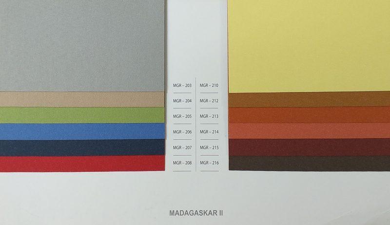 Tkaniny podgumowane Madagaskar II