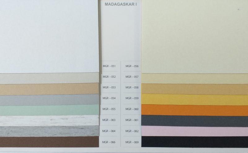 Tkaniny podgumowane Madagaskar I
