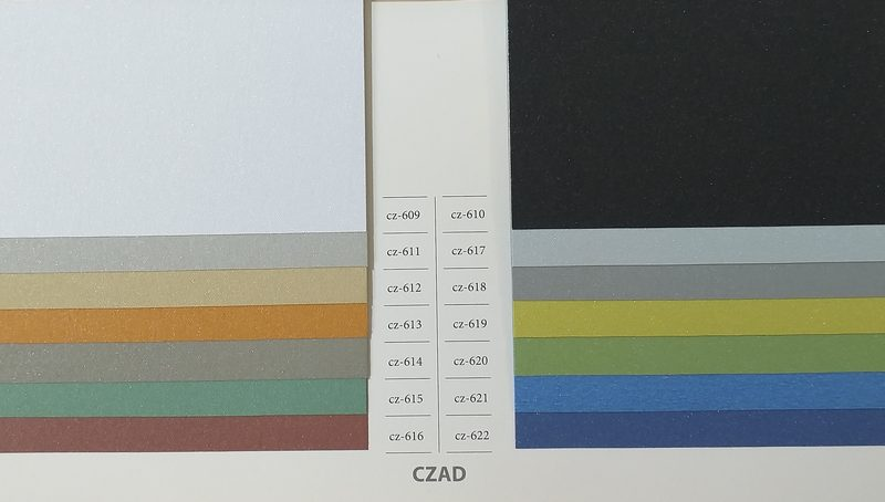 Tkaniny standardowe - Czad