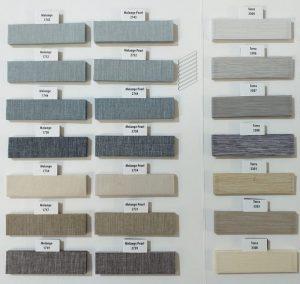 Tkaniny plisowane MELANGE_ PEARL TERRA